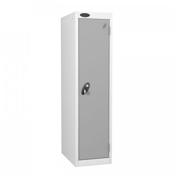 probe  door low locker in silver colour