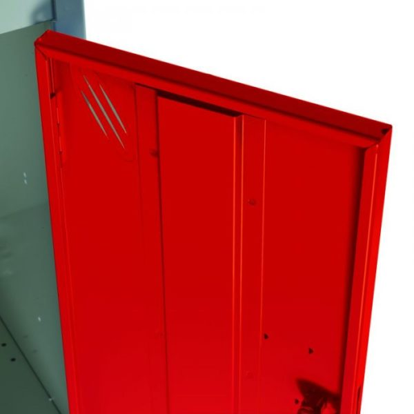DOOR STRENTHENER red