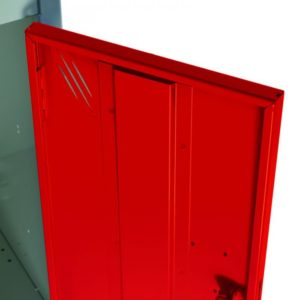 DOOR STRENTHENER red