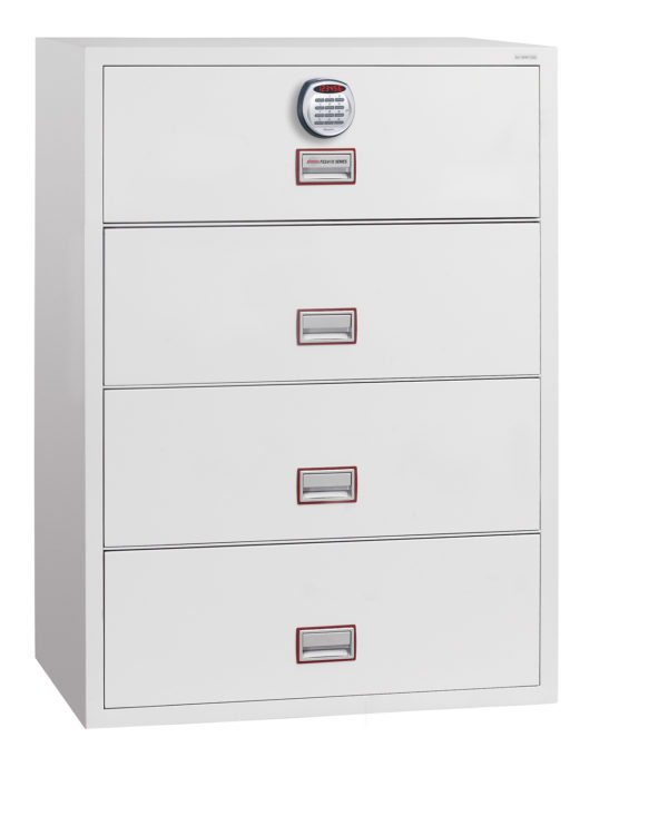 phoenixsafe Lateral Fire File FS2414E with electronic lock