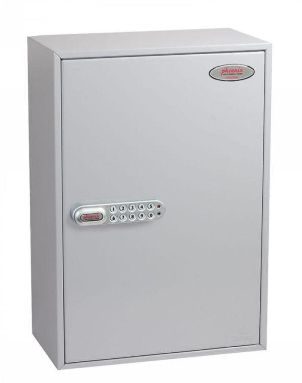 kc0605n 300 hook key cabinet with door closed