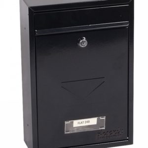 Phoenixsafe MB Series Front Loading Letter Boxes - MB0116KB