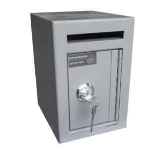 Burtonsafes Mini Teller Closed with key lock