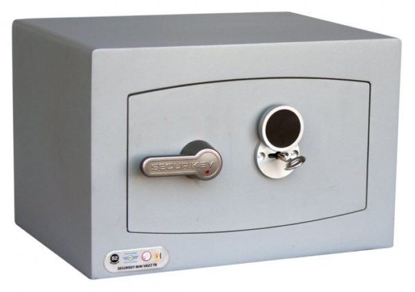 Securikey Mini Vault Gold 0K with key lock