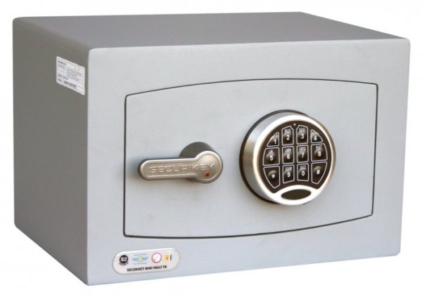 Securikey Mini Vault Gold 0E with electronic lock