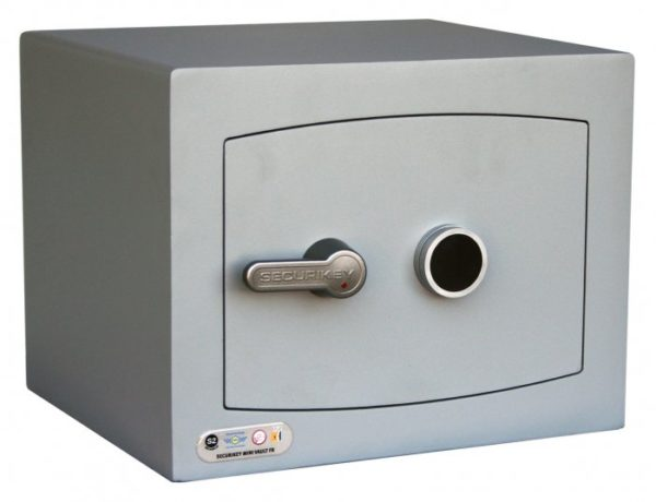 securikey Mini Vault Gold 1K with key lock