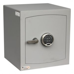 securikey mini vault silver with electronic lock