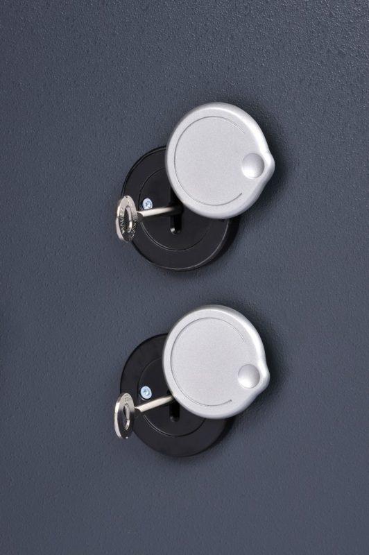 Chubbsafes Trident 110k twin key locks