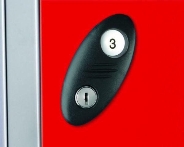 lock std col RED