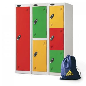 probe    doors low locker in multi colour