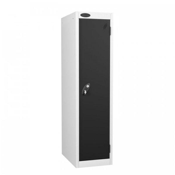 probe  door low locker in black colour