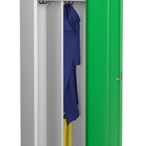 probe green locker for clean and dirty environment