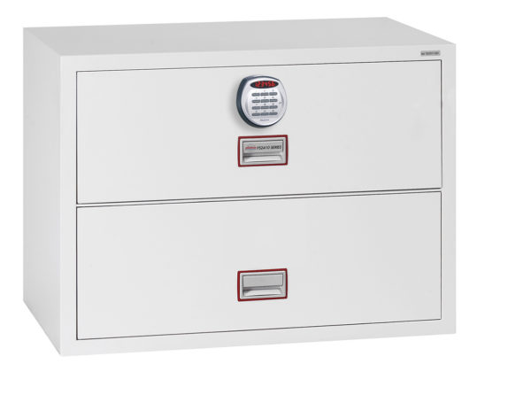 Lateral Fire File FS2412E with electronic lock