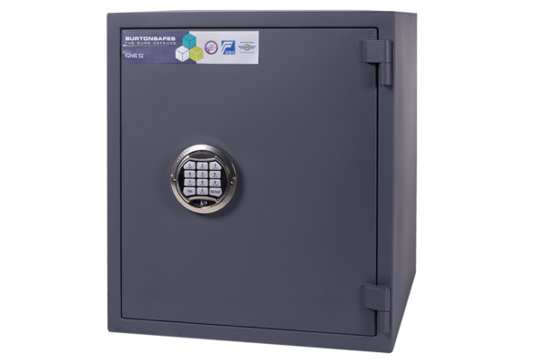 Burtonsafes Ignis S2 3e with electronic lock.