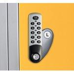 electronic lock L lo