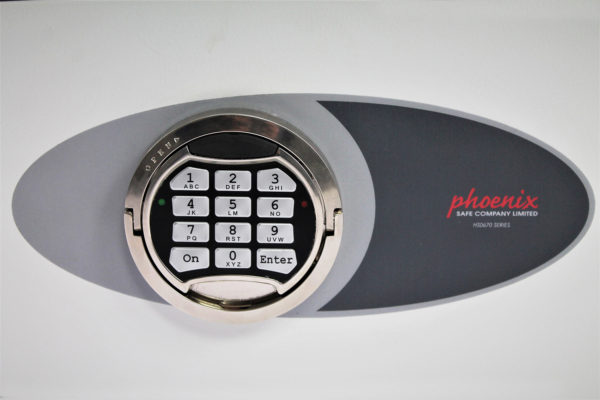 This Phoenixsafe Venus HS0670 Series - HS0671E has a high security double bit VdS class 2 electronic lock, supplied with time delay, dual code function and multiple user codes.