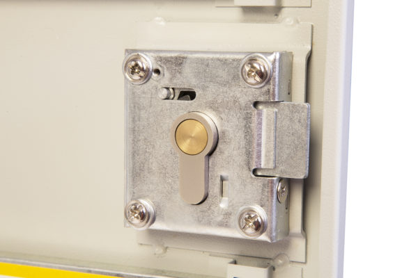 kc0602p rear view of cylinder lock