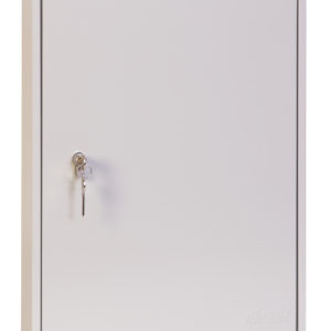 kc0603p key cabinet, door closed