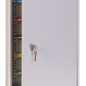 kc0603p key cabinet, door ajar