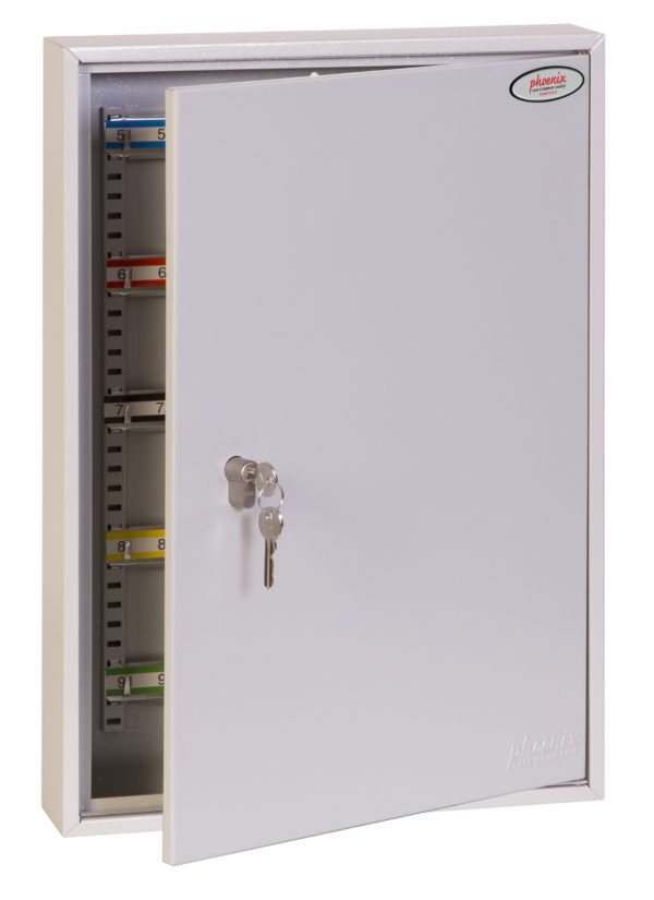 kc0603p key cabinet, door ajar