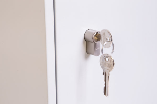 Kc0604p euro profile cylinder lock with 2 keys
