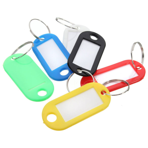 A selection of coloured key tabs for the kc0604p