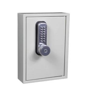 keysecure ks key cabinet with mechanical digital combination lock and key override