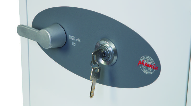 Phoenix safe titan fs1280 series high security dimple keys